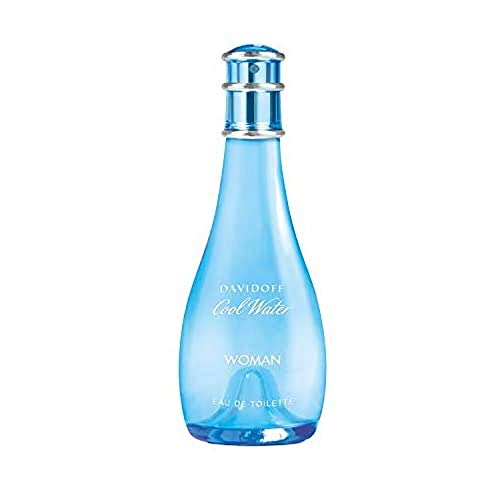 DAVIDOFF Cool Water Woman Eau de Toilette, blumig-frischer Damenduft