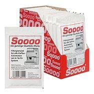 12 Soooo In-Ta-Fil Wasserfilter Nachfüllbeutel Granulat geeignet für nachfüllbare Patrone von Saeco, Tupperware, Claris, Aqua Prima, Luftbefeuchter, Ultraschallvernebler, Boneco A7533