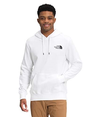 The North Face Men's Box NSE Pullover Hoodie, TNF White, L