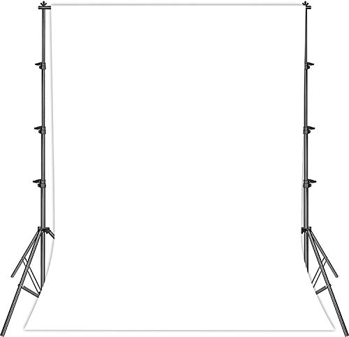 Fondo de estudio fotográfico para fotografía, pantalla blanca plegable, 2 x 3 m, tela blanca, pantalla blanca
