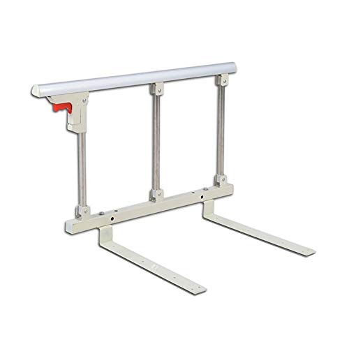 Bed rail MYANYAN Safety Assist Handle Bed Railing Elderly/Children Guard Rails Folding Hospital Bedside Grab Bar Bumper Medical Assistance Device, 70 x 40 cm