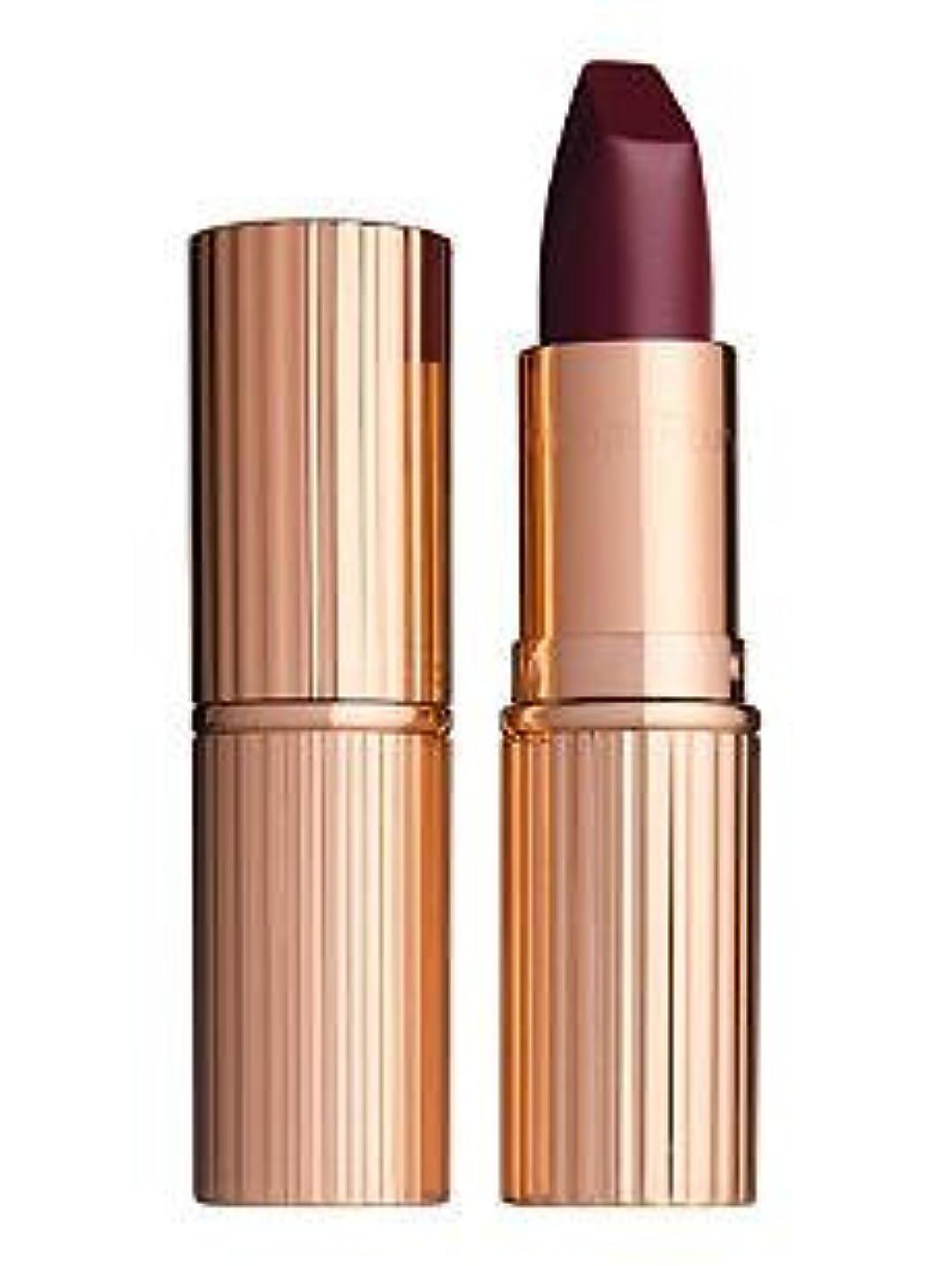 木不測の事態気絶させるMatte revolution lipstick GLADSTONEBERRY by CHARLOTTE TILBURY