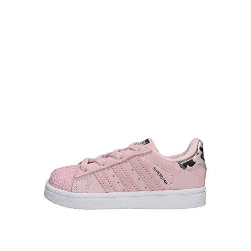 adidas Unisex-Kinder Superstar EL I Fitnessschuhe, Pink (Rosa 000), 25 EU