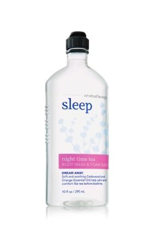 彼らグリップディスク【Bath&Body Works/バス&ボディワークス】 ボディウォッシュ&フォームバス アロマセラピー スリープ ナイトタイムティー Body Wash & Foam Bath Aromatherapy Sleep Night Time Tea 10 fl oz / 295 mL [並行輸入品]