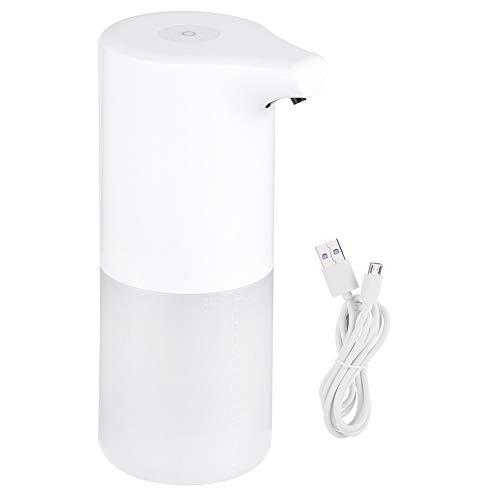 OIHODFHB Dispensador de jabón automático de 350 ml con sensor IR manos libres y dispensador de líquido espumoso sin contacto