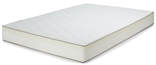 Amazon Basics Extra Komfort Frühlingsmatratze mit sieben Zonen weich, 160 x 200 cm - Weich (H2)