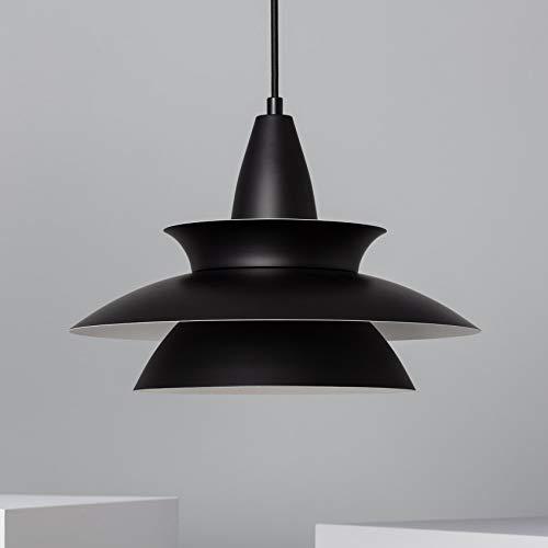 LEDKIA LIGHTING Lámpara Colgante Ballnew Negro