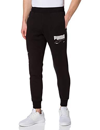 PUMHB|#Puma Rebel Pants Cl TR, Pantaloni Tuta Uomo, Puma Black, L