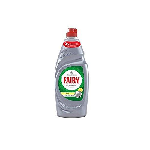 Fairy Platino Lavaggio Limone Liquido (625ml) (Confezione da 2)