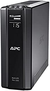 APC BR1200GI Battery Back-Up and Surge Protector UPC, Black