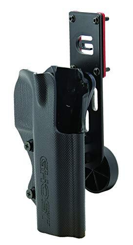 Ghost - Fondina Pistola Ghost Thunder, per tiro dinamico IPSC, Completamente Regolabile...