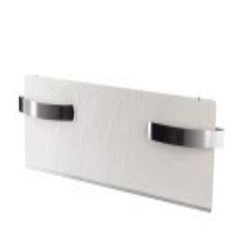 Jata Dual-Kherr Toallero de silicio, 500 W, Acabado exterior pizarra