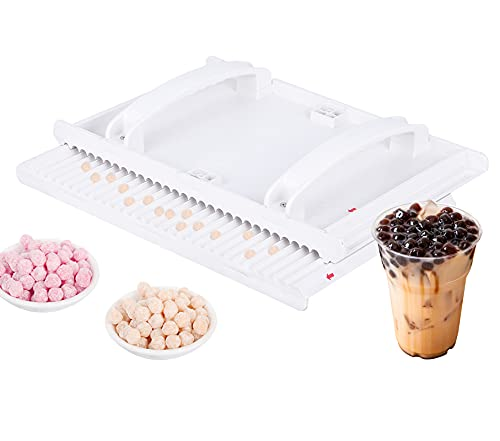 JIAWANSHUN Tapioca Pearls Maker 8mm Taro Pearls Forming Machine Tapioca Pearls DIY Tools for Milk Bubble Tea