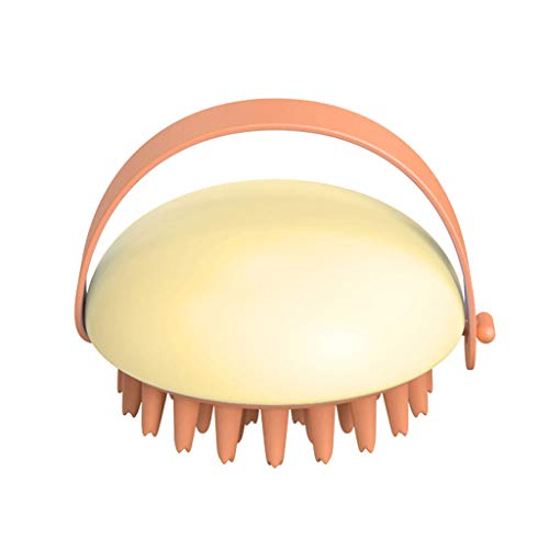 N\A Xiuinserty - Cepillo masajeador para cuero cabelludo con silicona suave para montar en la pared