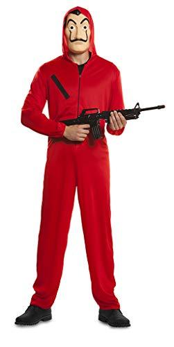 Ciao Tuta Rossa Rapinatore Casa Di Carta Costume Originale (Taglia M/l) Disfraces, Rossol, Unisex Adulto