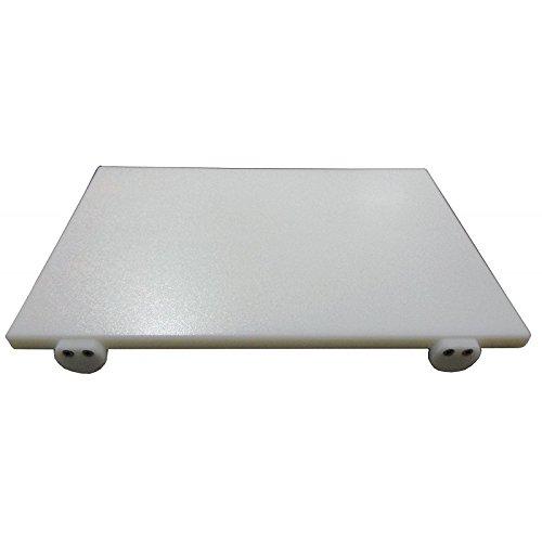 Fimel Materiale: Polietilene;Colore: Bianco.Dimensioni 80X40X2 cm con 2 Fermi di bloccaggio.Lavare accuratamente Prima dell'