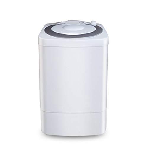 RASHLD 7 kg Capacidad Total Lavadora, Lavado de bañera Individual y deshidratación de Centrifugado El Ahorro de energía Ahorro de Espacio Lavadora