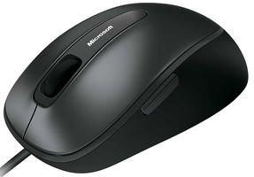 Microsoft Comfort Maus 4500 schwarz (Verpackung für Unternehmen)