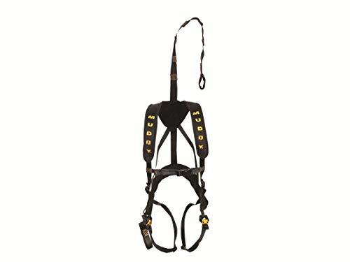 Muddy MSH120 Magnum Elite Safety Harness Black, One Size