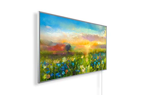 450W/600W/800W/1000Watt Infrarotheizung mit TÜV - Bildheizung Ölgemälde Kunst – Smart Home Digitalthermostat per Handy/App steuer- und programmierbar (IOS und Android)