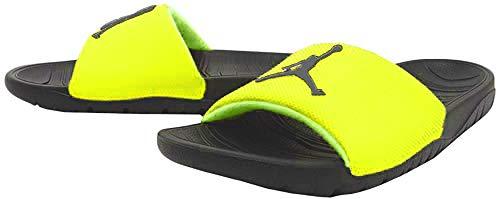 Nike Herren Jordan Break Dusch- & Badeschuhe, Mehrfarbig (Volt/Black/Black 700), 42.5 EU