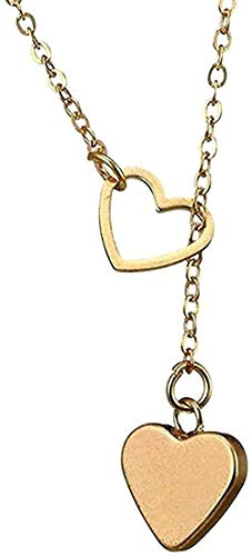 NC188 Necklace Tiny Heart Choker Necklace Golden Silver Charm Necklaces For Women Collier Chians Necklaces Jewelry Size 54 + 6cm