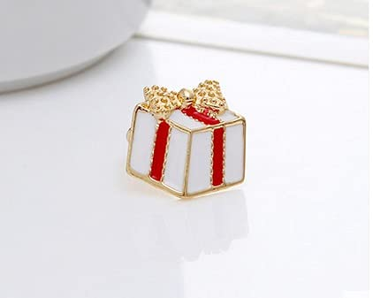 RAMPS Christmas Earrings Merry Christmas Decorations for Home Navidad 2021 Christmas Ornaments Xmas Navidad Gifts Happy New Year 2022 (Color : E)