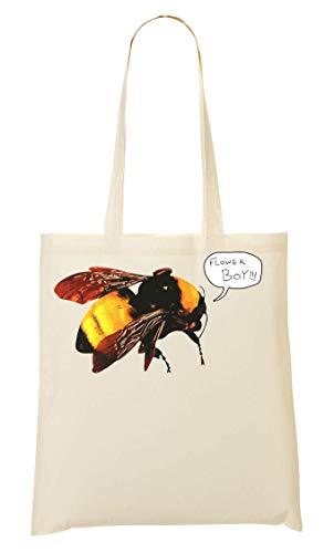 BakoIsland Flower Boy Bee Design Tragetasche Einkaufstasche