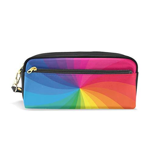 Crayon Sac Stylo Etui Pochette Abstrait Rainbow Maquillage Cosmétique pour Filles Garçons Ecole De Voyage