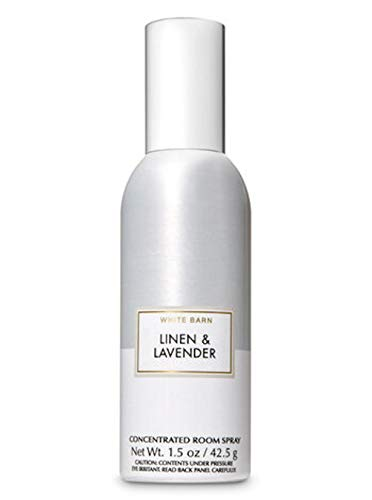Bath and Body Works Linen & Lavender Concentrated Room Spray (2018 Edition) 1.5 Ounce