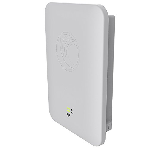 Cambium Networks E501S Outdoor 90-120 Sector 802.11ac WLAN AP with tilt Bracket & PoE Injector - High Density Long Range Access Point - Dual Band 2.4 GHz & 5 GHz (FCC) (PL-501SP00A-US)