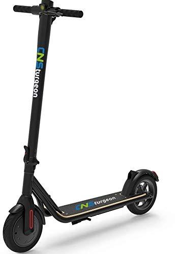 Scooter eléctrico CNSturgeon Z9 Scooter Plegable E-Scooter con App -Batería 7.5Ah - 250W -MAX 25m / h -8.5 '-Pantalla LED Negra (Negro)