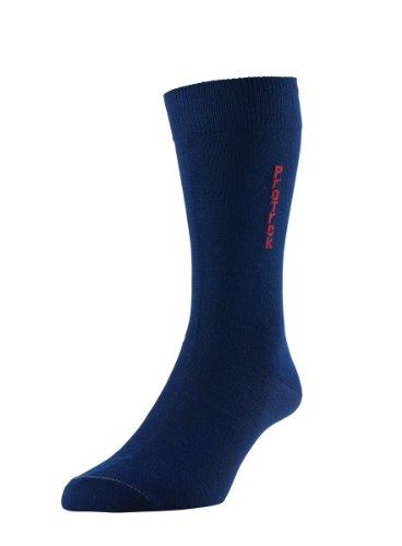 HDUK Mens Socks HJ Hall ProTrek hj836/2Coolmax® Thermo Walking Wandern Kofferraumwanne Socken (2Paar) UK Größen 3bis zu 15, Blau, HJ 836/2 - Liner - 2 Pair Pack