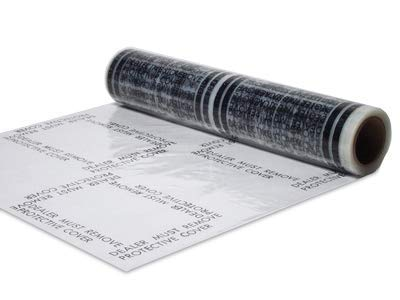 Auto Adhesive Floor Mat Dealer Must Remove, 4 Mil