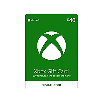 $40 Xbox Gift Card [Digital Code]