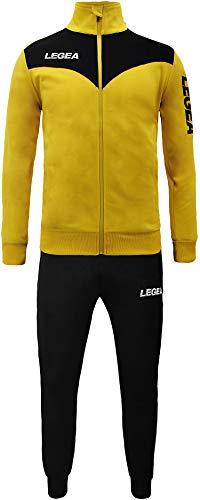 My Custom Style Tuta Legea Peru S Giallo-Nera_P Nero. Senza Stampe