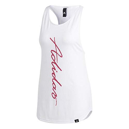 adidas Originals Vert ESS Tank DV0531 - Camiseta de Tirantes para Mujer, Color Blanco - Blanco - Medium