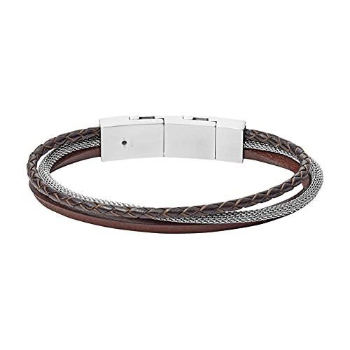 Fossil JOF00573040 - Pulsera de acero inoxidable para hombre