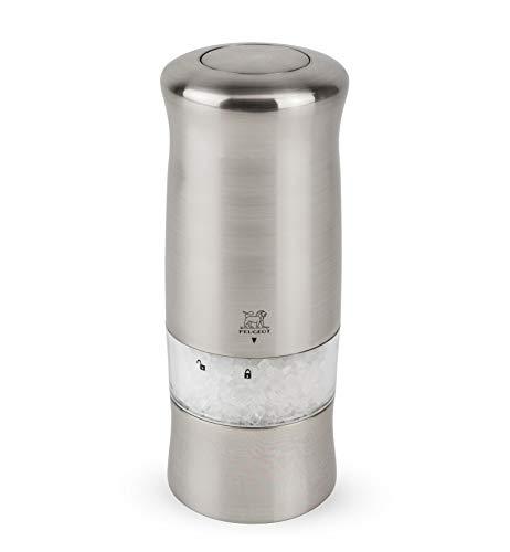 プジョーPEUGEOTミル電動ミルソルトミル試用電池付14cmシルバーゼリ24086