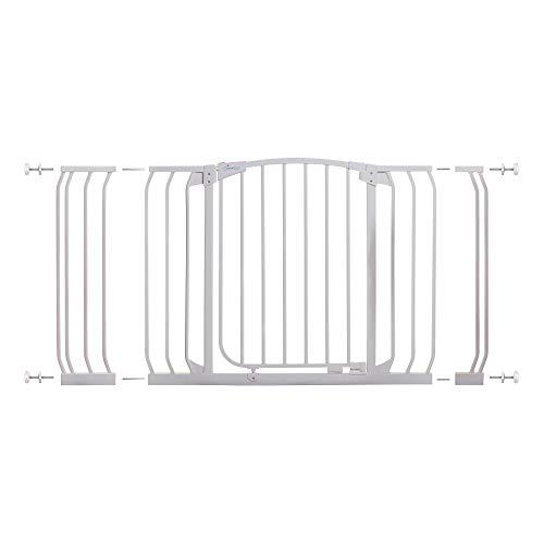 Dreambaby Auto-Close Chelsea Safety Gate, White, 97 - 133 cm