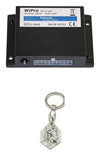 Zisa-Kombi Alarmanlage WiPro Alarm (93298847225) mit Anhänger Hlg. Christophorus