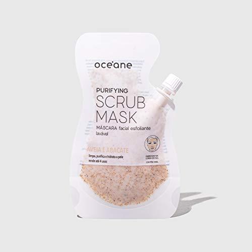 Máscara Facial Esfoliante Purifying Scrub Mask, Océane Branco
