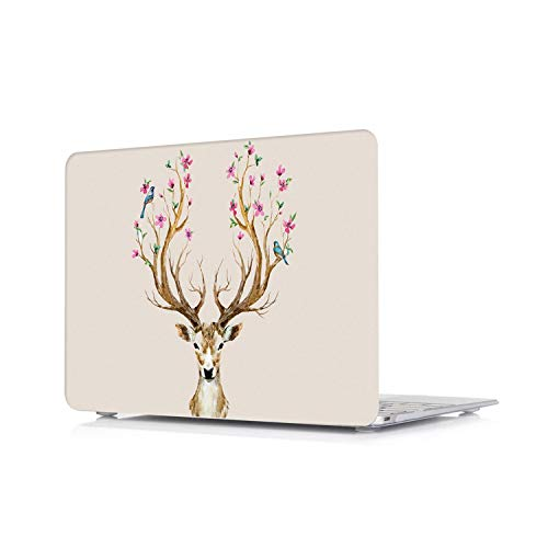 Peach-Girl Hard Case for Macbook Air 11, Cute Laptop Design Case Cover for Macbook Air 11 Air 13 Pro Retina Touch Bar 12 13 15 16 Inches -Dw18-13 Pro A1278 CD Rom