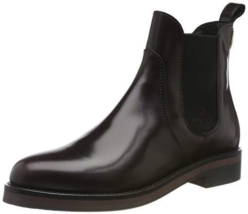 GANT Footwear Damen Malin Chelsea Boots, Rot (Port Red G537), 37 EU