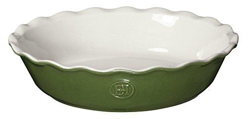 "Emile Henry Modern Classics Pie Dish 9"", Spring Green"