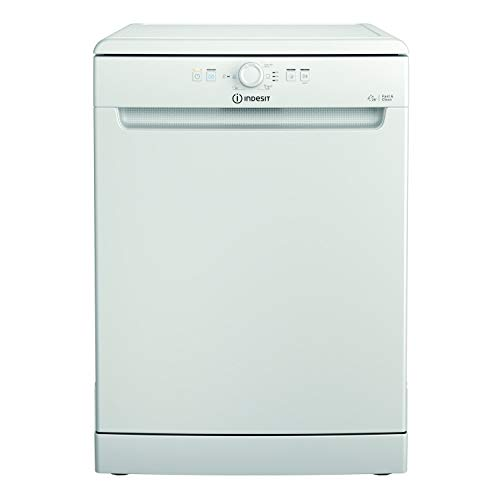 Indesit DFE1B19UK 13 Place Freetanding Dishwasher - White