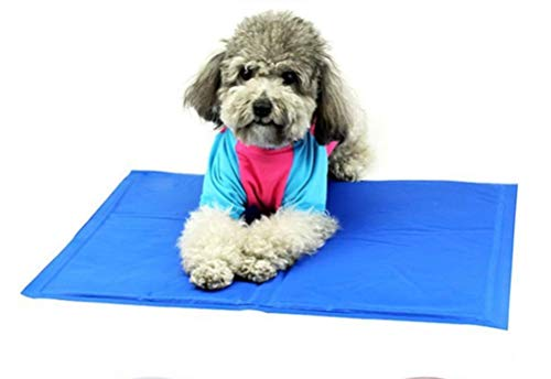 Love pets Dog Cooling Mat, Non-Toxic Durable Pet Cooling Mat Cool Bed Ice Gel Pad Mattress for,Best Cold Gel Dog Cooling Mat for Summer - Perfect Size Pet Cooling Pad for Couch,XL