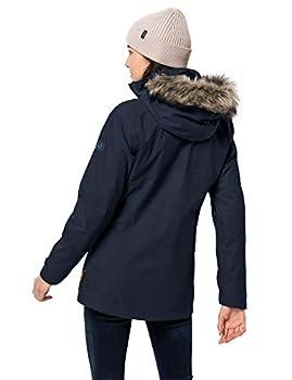 Jack Wolfskin Arctic Ocean Veste Femme Midnight Blue FR: XS (Taille Fabricant: 1)