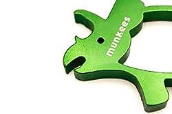 3. AceCamp Store Munkees Dinosaur Bottle Opener Keychain