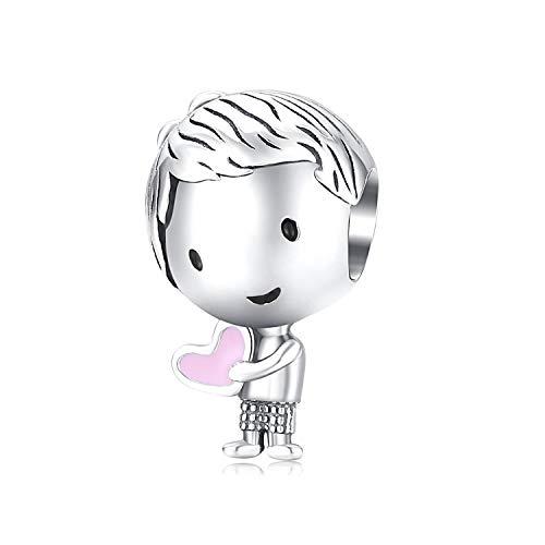 Charms Bead,Dreamcatcher Charm Colgante con colorido Cubic Zirconia fit Pandora Pulsera y collar Accesorios Joyas Regalo para mujeres y niñas